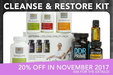 Cleanse and Restore Enrollment Kit